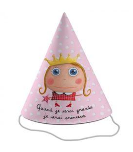gorros fiesta princesa