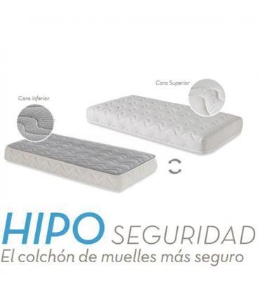 COLCHON HIPO CUNA 140X70 - COLCHON-CUNA-MUELLES-HIPO-ECUS
