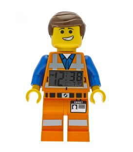 RELOJ LEGO THE MOVIE EMMET - RELOJ-DESPERTADOR-LEGO-EMMET