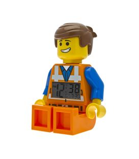 RELOJ LEGO THE MOVIE EMMET - RELOJ-DESPERTDOR-LEGO-EMMET