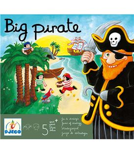 JUEGO DE MESA BIG PIRATE - 1JUEGO-BIG-PIRATE
