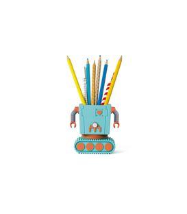 PORTALAPICES ROBOT AZUL - PORTALAPICES-ROBOT-AZUL