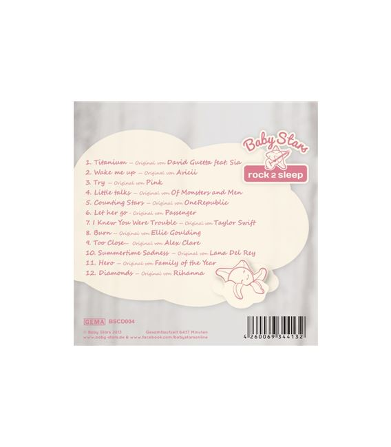 CD LITTLE DIAMONDS BABY STARS - CD-LITTLE-DIAMONDS2