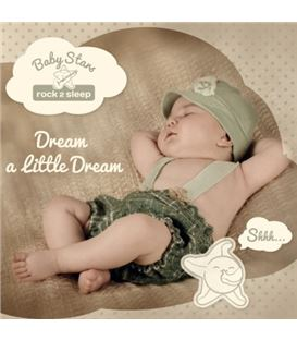 CD DREAM A LITTLE DREAM BABY STARS - CD-LITTLE-DREAM