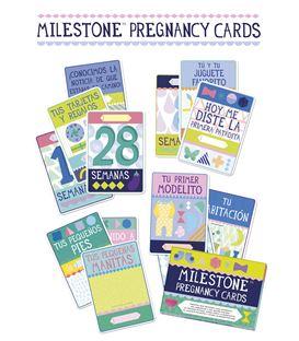TARJETAS PREGNANCY CARDS - MILESTONE-EMBARAZADA-CARTAS