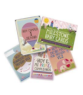 MILESTONE TARJETAS BABY CARDS - TARJETAS-MILESTONE-BABY