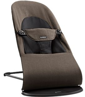 HAMACA BALANCE SOFT ORGANIC NEGRO/MARRON - BOUNCER-ORGANIC-BROWN