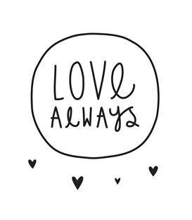 VINILO PARED LOVE ALWAYS - VINILO-LOVE-ALWAYS