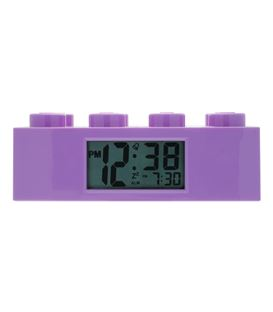 DESPERTADOR BLOQUE LEGO LILA - LEGO-FRIENDS-PURPLE-BRICK-ALARM-0