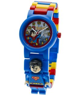 RELOJ LEGO SUPERMAN MINIFIGURA - RELOJ-LEGO-SUPERMAN-ENTERO