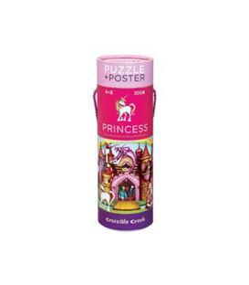 PUZZLE + POSTER PRINCESAS - PUZZLE+POSTER-PRINCESAS