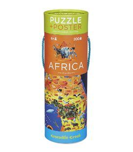 POSTER & PUZZLE AFRICA 200P - 200-AFRICA