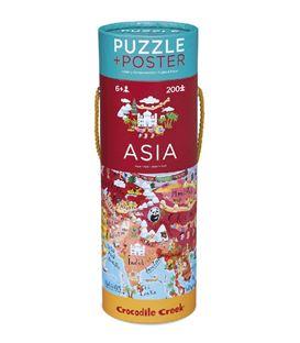 POSTER & PUZZLE ASIA 200P - 200-ASIA