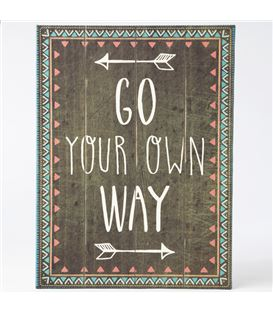 CUADRO GO YOUR OWN WAY