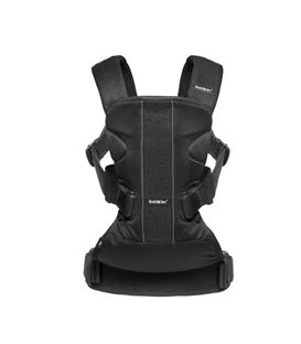 MOCHILA PORTABEBE ONE AIR NEGRO BABYBJÖRN - BABYBJORN-BABY-CARRIER-ONE-AIR-NEGRO-MESH
