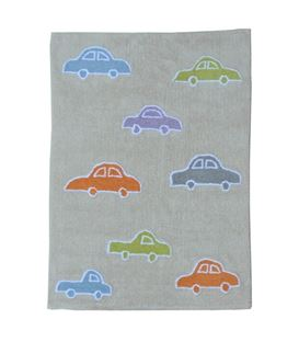 ALFOMBRA COCHES MULTICOLOR - COCHES-MULTI