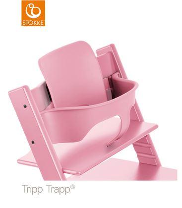 BABY SET ROSA PARA TRIPP TRAPP - BABY-SET-ROSA-PASTEL-TRIPP-TRAPP