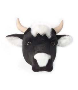 CABEZA DE PELUCHE VACA - BIBIB-BRIGBYS-ROOM-FRIENDS-COW-TROPHY-HEAD-F73