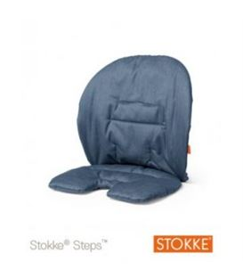 COJIN BABY SET STEPS AZUL