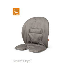 COJIN BABY SET STEPS GRIS