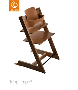 TRONA TRIPP TRAPP NOGAL CON BABYSET - TTNG