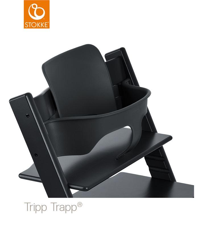 baby set negro para tripp trapp. Black Bedroom Furniture Sets. Home Design Ideas
