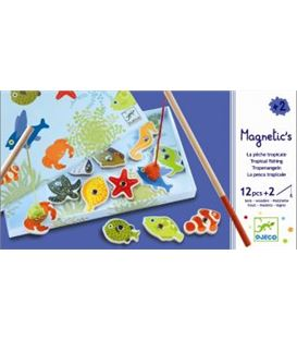 JUEGO PESCA TROPICAL - MAGNETIC