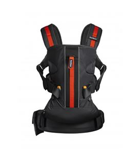 MOCHILA PORTABEBE ONE BABYBJORN OUTDOORS NEGRO
