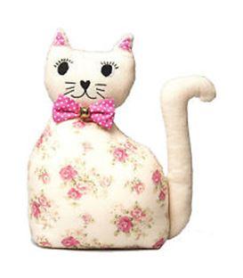 ROSE CAT DOOR STOP - GATODETELA