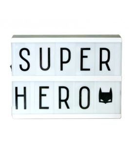 LIGHTBOX CON LETRAS INTERCAMBIABLES A5