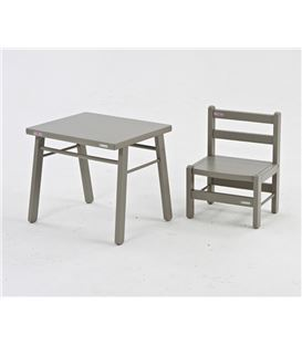 MESITA 50X40X43 GRIS CLARO - TABLE-ENFANT-COMBELLE-GRIS-1