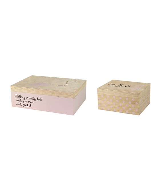 PACK 2 CAJAS NATURAL/NUDE CON TAPA - CAJAS-NATURAL-NUDE