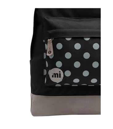 MOCHILA POLKA BLACK GREY - POLKA_BLACK_GREY_A