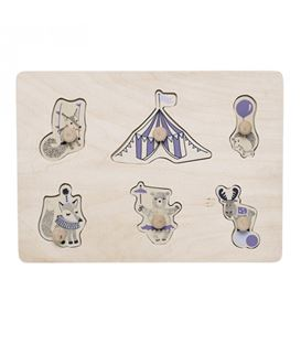 PUZZLE CIRCUS NATURE PURPLE