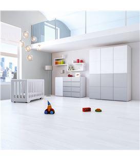 ARMARIO INFANTIL DE 6 MÓDULOS GRIS - ROOM-MODULAR-A3016-G2314