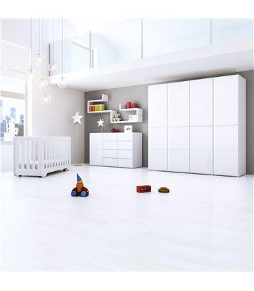 ARMARIO INFANTIL DE 8 MÓDULOS BLANCO BRILLO - ROOM-MODULAR-A3018-G2300
