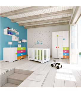 ARMARIO INFANTIL GRANDE MULTICOLOR 1 - ROOM-MATHS-A350G-2350