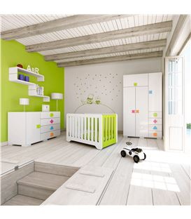 ARMARIO INFANTIL GRANDE MULTICOLOR 2 - ROOM-MATHS-A350G-2351