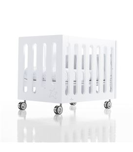 Minicuna de colecho Inborn Crib Luxe ruedas metal - C1044-M7700