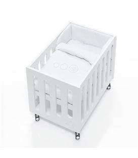 Minicuna de colecho Inborn Crib Luxe con colchón y saco textil blanco - C1044TX-067