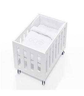 Minicuna de colecho Inborn Crib con colchón y saco textil blanco - C1045TX-067
