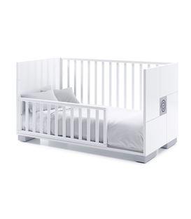 CUNA - CAMA - ESCRITORIO 70X140 CM GRIS 3 - C146-2314-BED