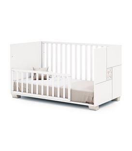 CUNA - CAMA - ESCRITORIO 70X140 CM MADERA 5 - C146P-G2392-BED