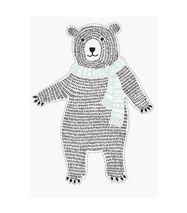 PEGATINA PARED BEAR 29,5X42CM - IMAGEHANDLER (24)