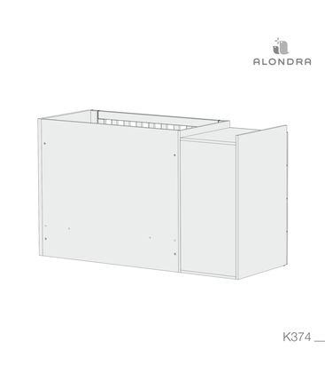 CUNA CONVERTIBLE JUST BUBBLE BLANCO - K374-TECH-BACKVIEW
