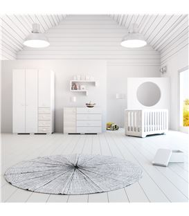 CÓMODA INFANTIL MADERA 2 - ROOM-BUBBLE-A354G-M7792