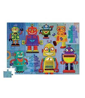 PUZLE JUNIOR ROBOTS 72PCS - JUNIOR-SHAPED-BOX-PUZZLE-ROBOTS-72PCS