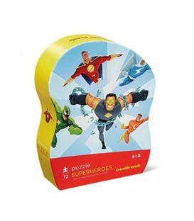 PUZLE SUPER HEROES 72PCS - SUPER-HEROS-PUZZLE-72-PCS