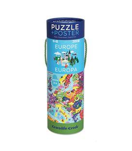 PUZZLE + POSTER EUROPA 200PCS - PUZZLE-ILUSTRADO-DE-LOS-PAISES-DE-EUROPA_82289_3