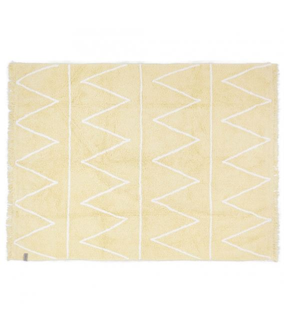 ALFOMBRA LAVABLE HIPPY YELLOW - HIPPY-YELLOW
